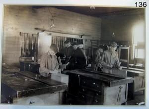 vintage woodshop